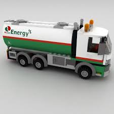 Oil Tanker Lego 3D Model $19 - .obj .3ds .fbx .max - Free3D