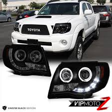 Toyota Tacoma 05-11 Pickup TRD Black Halo Angel Eye Projector ... Toyota Tacoma Trd Off Road What You Need To Know New 2018 Sport 4 Door Pickup In Kelowna Bc 8ta3498 Bed Rack Active Cargo System For Short 2016 Trucks Offroad Sherwood Park Sr5 Double Cab Escondido 17410 Certified Preowned 2017 Crew 4x4 Truck 1017252 Review An Apocalypseproof Bedslide Storage 1000 Amazoncom Tac Bull Bar 052015