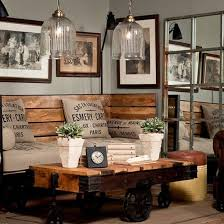 Awesome Industrial Living Room Furniture Pictures Of Rustic Chic Decor