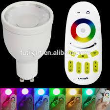 best selling mi light 4w gu10 wireless led bulb l 2 4g wifi led
