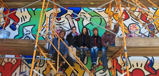 Kurt Vile Mural Philadelphia by Keith Haring Mural Re Dedication U2013 Haha Magazine
