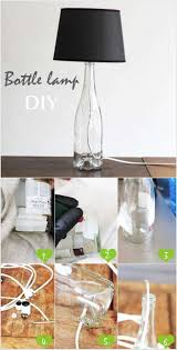 Decorative Wine Bottles Diy by Best 25 Wine Bottle Lamps Ideas Only On Pinterest Bottle Lamps