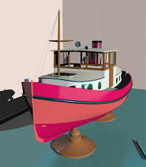 wooden boat build ecommerce doela mini tug plans link type free