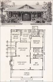 Craftsman Style Floor Plans Bungalow by Plan No L 115 E W Stillwell U0026 Co Craftsman Style With