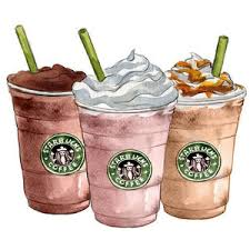 ALL THiNGS STARBUCKS Starbucks Frappuccino Animated Clipart Coffee