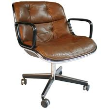 Knoll Pollock Chair Vintage by 1970s Charles Pollack For Knoll Executive Desk Chair For Sale At