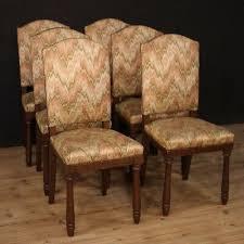 6 stühle möbeln aus antik rustikal stil sitz sesseln