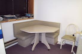 Image Of Simple Corner Booth Kitchen Table