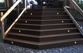 Patio Floor Lighting Ideas by Deck Works By Porter Construction