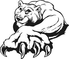 California Bear Stencil 67660