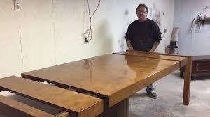 Refinishing A John Widdicomb Burl Dining Table Part 2