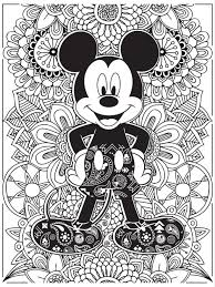 Celebrate National Coloring Book Day With Adult PagesDisney