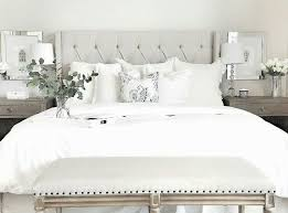 Bedroom With White Bedding Duvet Is From Target Shams Are Anthropologie