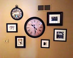 My Copy-cat Pottery Barn Wall – Pottery Barn Large Wall Clocks Ashleys Nest Potterybarn Inspired Clock Black Railway Regulator Ebth Union Station Au Rustic Pendant 16 Best Giant Images On Pinterest Wall Clock Just Photocopy 4 Diff Faces And Put Them Under A Glass Plate Oversized John Robinson House Decor Mount Digital Timer