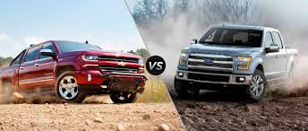 2016 Chevy Silverado Vs. 2015 Ford F-150