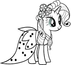 My Little Pony Friendship Is Magic Coloring Pages Packed With Prepossessing