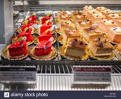 100 Melbourne Bakery Attractive Cakes And Sweets Displayed In Counter Of Brunetti Cafe On
