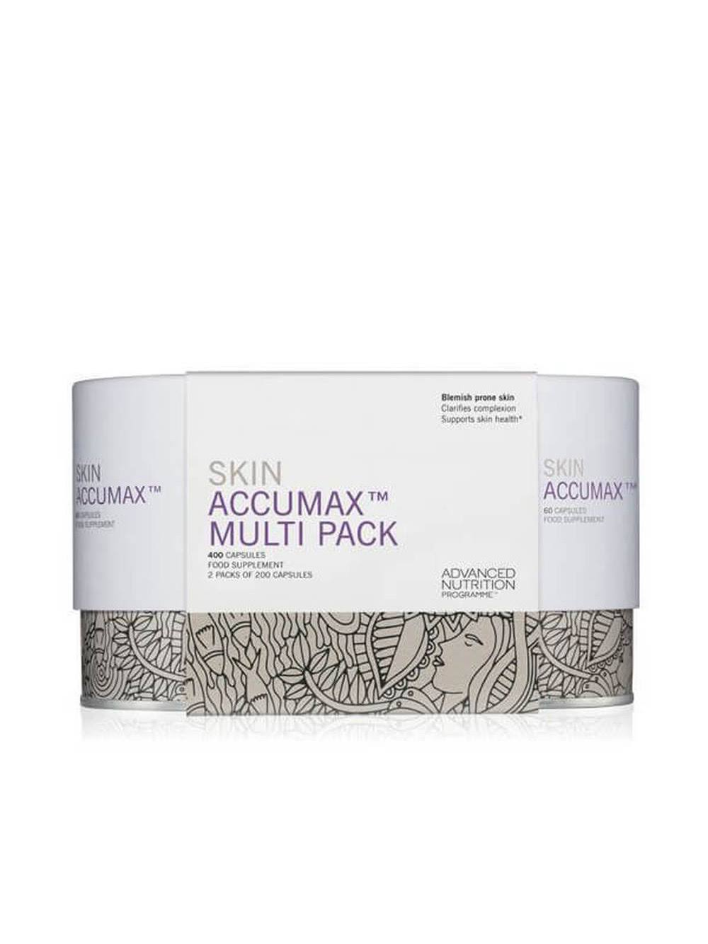 Advanced Nutrition Programme Skin Accumax 400 Capsules