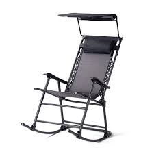 Portable Folding Rocking Chair Outdoor Rocker Porch Durable Construction  Patio Zero Gravity Recliner Furniture W/Sunshade Canopy And Pillow - Black  ... Gci Outdoor Freestyle Rocker Portable Folding Rocking Chair Smooth Glide Lweight Padded For Indoor And Support 300lbs Lacarno Patio Festival Beige Metal Schaffer With Cushion Us 2717 5 Offrocking Recliner For Elderly People Japanese Style Armrest Modern Lounge Chairin Outsunny Table Seating Set Cream White In Stansport Team Realtree 178647 Wooden Gci Ozark Trail Zero Gravity Porch