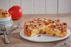 apfelkuchen mit pudding und keks streuseln reisegabel