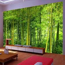 neueste hohe qualität bambus wand papier wohnzimmer tv sofa hintergrund wandbild 3d natur landschaft home decor papel de parede 3d