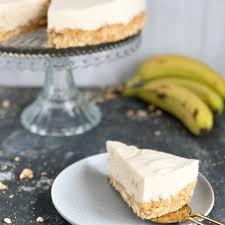 no bake bananen creme torte