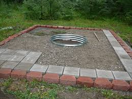 Pea Gravel Patio Plans by Backyard Fire Pit Ideas Home Outdoor 12 Photos Gallery Of Loversiq
