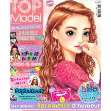Album Top Model Coloriage