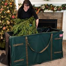 Image Of Artificial Christmas Tree Storage Box Size