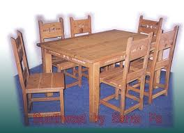 The Most Phoenix Southwestern Style Dining Tables Regarding Southwest Table Decor