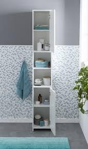 wohnling badschrank in weiß wl5 751 aus spanplatte bathroom