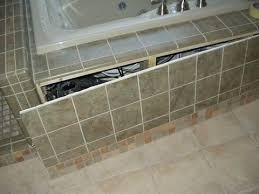an idea for building a tile access panel now what to attach it