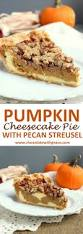 Pumpkin Layer Cheesecake by Pumpkin Cheesecake Pie With Streusel Chocolate With Grace