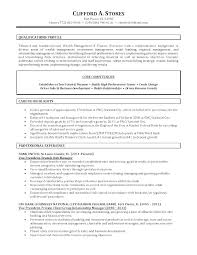 Project Manager Resume Sample Banking Bank Samples Executive
