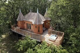 100 Tree Houses With Hot Tubs Fairytale Houses In NojalsetClotte France
