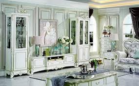 klassischer wohnwand wohnzimmer vitrine sideboard rtv regal wohnwände schrank