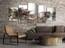 blumen lilien abstrakt silber wandbilder bilder vlies
