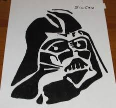 Star Wars Stormtrooper Pumpkin Stencil by çizim Draw Stencil Starwars Darth Vader Youtube