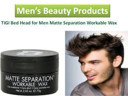 Bed Head Matte Separation Wax by Beauty Products Chance To Enhance Your Beauty With This Product
