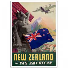 New Zealand Via Pan American