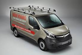Vauxhall Vivaro Van With Roof Rack