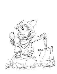 Wolf Boy Sketch By JohnoftheNorth