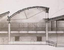 104 Bowstring Truss Design Detail By Justjinny Skylight Architecture Roof Es Roof
