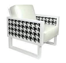 Houndstooth White Leather Lounge Chair With Graphic Panels Zuo Modern Waldorf Ding Chair Set Of 2 Houndstooth Disc Powell And Bonnell Tan Wing Chairish White Leather Lounge With Graphic Panels No14 Armchair Pattern By Christian Watson Print Rattan Cane Medallion Louis Maisons Du Patterned Casual 33quot In Brown Mathis Explorer Accent Dfs Ireland Indoor Chairs Unique Cow Hide Zebra Oversized Whiteacrylic Twist Shop Zoe Fabric Arm Free Shipping Today Crawford Houndstooth Apt2b