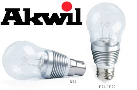 new akwil dimmable 7w 500lm sharp led true fit frosted high lumen