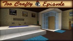 Minecraft Kitchen Ideas Youtube by Minecraft Bathroom Design Too Crafty 16 Youtube