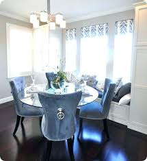 Blue Dining Room Chair Covers Chairs Velvet Best Home French