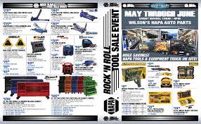 May 2018 | Wilsons NAPA Auto Parts