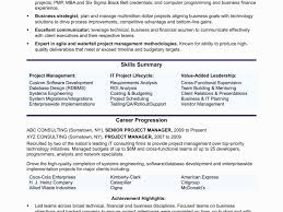 Telecom Project Manager Resume Sample Beautiful Software Project