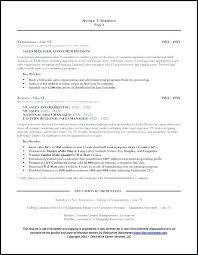 3 Page Resume Sample Here Are General Manager
